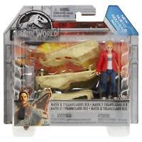 Jurassic World Maisie & Tyrannosaurus Rex Mattel New