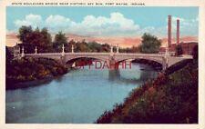 STATE BOULEVARD BRIDGE, NEAR SPY RUN, FORT WAYNE, IN