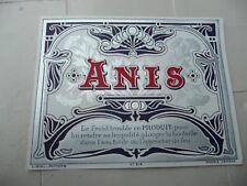 étiquette ancienne ANIS