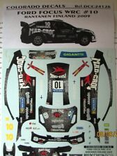 DECAL: 1/24 COL126 2009 MAD CROC FORD FOCUS FINLAND
