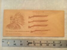1920s Winchester Indian Store Greenville Maine Advertising Envelope Knives Guns
