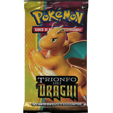 x1 Busta carte Pokemon TRIONFO DEI DRAGHI in  ITALIANO NUOVO Sealed Pack NO Box