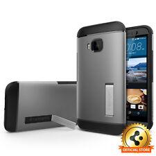 [Spigen Outlet] HTC One M9 [Slim Armor] Gunmetal KickStand Shockproof Hard Case