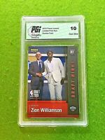 ZION WILLIAMSON ROOKIE CARD GRADED 10 GEM MINT 1of17,281 PELICANS 2019-20 Panini