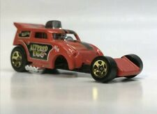 Hot wheels Altered Ego Die Cast Toy Car diecast Red flames nose art
