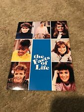 Facts Of Life Cast Photo Autographed On Back Good Condition
