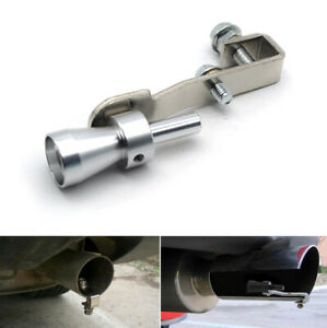 Car Blow Off Valve Noise Turbor Exhaust Muffler Tip Whistle Sounder Simulator LI