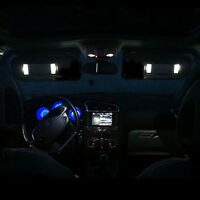 4 ampoules à LED Blanc miroir de courtoisie pour Peugeot 207 307 406 407 607 807