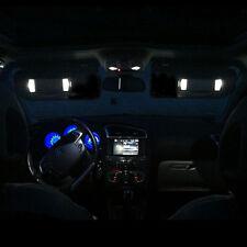 2 ampoules à LED Blanc miroir de courtoisie pour Peugeot 207 307 406 407 607 807