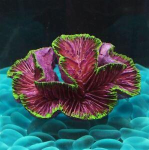 Resin Artificial Coral Reef Aquarium Decoration Fish Tank Marine Coral Ornament