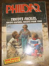 Phildar Mailles Tricot faciles, tricots rapides tricots pour tous Tricot Laine