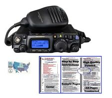 Yaesu FT-818 HF/VHF/UHF Portable QRP Radio w/ Nifty! Accessories Mini-Manual