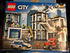 *NEW Sealed Lego City Police Station Building Toy Set 60141 894 pcs Retired HTF