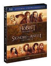 Lo Hobbit + Il Signore degli Anelli - Le Trilogie Cinematografiche (6 Blu-Ray)