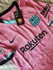~2020/21~ FC Barcelona Third Pink La Liga Jersey