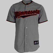 Minnesota Twins Jersey 6XL Road Grey Plus Sizes Big & Tall Majestic MLB