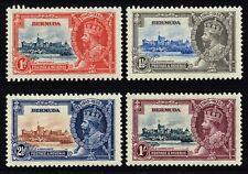 Bermuda 1935 Silver Jubilee set, MH (SG#94/97)
