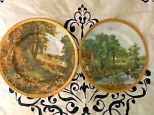 """Vintage pair of �The Valley Farm """" Collector Plates """" Wicklow Classic Art �"""