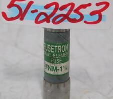 FUSETRON 1-1/4AMP DUAL-ELEMENT FUSE FNM-1 1/4