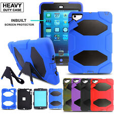 Heavy Duty Shockproof Kick Stand Case Cover For iPad Air 2 Pro 9.7 5th 6th Gen.