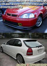Mu-gen Style Front + CTR Style Rear Lip (Urethane) Fits 96-98 Honda Civic 3dr