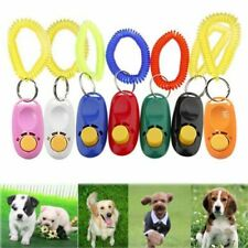 Dog Training Big Button Clicker with Wrist Strap Click And Train Dog Cat Pets