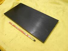 BLACK DELRIN BAR - machinable plastic flat sheet stock acetal 1/2