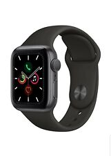 Apple Watch Series 5 (GPS, 40mm) - Space Gray Aluminum Case with Black Sport Ban