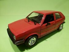 POLISTIL S318 VW VOLKSWAGEN GOLF 2 CL -  RED 1:25 - GOOD CONDITION