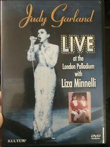 Judy Garland Live At The London Palladium With Liza Minnelli DVD Region 1 NTSC
