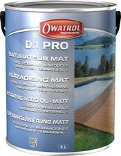 D1 PRO SATURATEUR MAT INCOLORE BOIS DUR PROTECTION RENFORCE 5 L  OWATROL