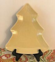 Fiestaware Ivory Tree Plate Fiesta Christmas Holiday Serving Platter