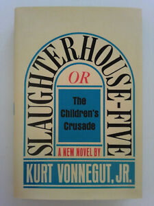 Slaughterhouse-five hardcover with original cover art