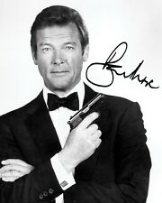 ROGER MOORE #1 10x8 PRE PRINTED LAB QUALITY PHOTO PRINT - Free Delivery