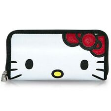 NEW Loungefly X Hello Kitty 2-Sided Face Zip Around Wallet -SALE