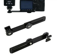 Flash Bracket Mount DSLR Hot Shoe Digital Camera DC Camera Tripod