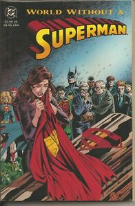 °FUNERAL FOR A FRIEND TPB A WORLD WITHOUT SUPERMAN° USA DC 1993