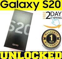 Samsung Galaxy S20 5G SM-G981U1 - 128GB Cosmic Gray (FACTORY UNLOCKED) ❖SEALED❖w