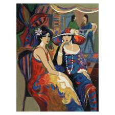 """Isaac Maimon """"Friendship"""" Signed Limited Edition Serigraph on Paper"""