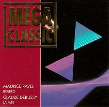MAURICE RAVEL : BOLERO - CLAUDE DEBUSSY : LA MER / CD - NEUWERTIG