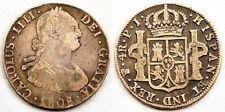 ESPAÑA-Carlos IV. 4 Reales. 1808. Potosi. BC+/F+ Plata. 13 g.