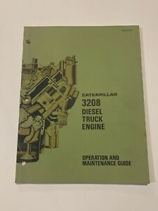 CAT Caterpillar 3208 Diesel Truck Engine Operation And Maintenance Guide