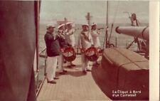 LA CLIQUE A BORD D'UN CUIRASSE - French sailors