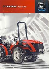 Antonio Carraro 10 / 2011 catalogue brochure Traktor tracteur tractor