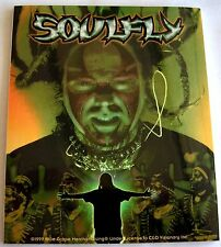 Soulfly sticker Licensed max Retired sticker in 1999