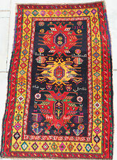 ANTIQUE CAUCASIAN KAZAK RUG....SPECIAL….MADE IN THE COUNTRY OF GEORGIA