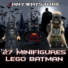 NEW DC Universe Minifigures DC Batman SuperHero LEGO Batman Movie Fits lego
