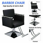 New Hydraulic Barber Chair Hair Styling Salon Work Station Beauty Equipment BLK