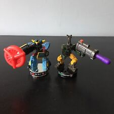 Transformers (G1/Cybertron/Mini Figuras Animadas) Soporte (Hot Shot & INSECTICON)