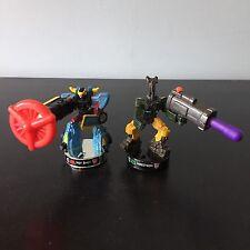 Transformers (G1/Cybertron/Mini Figuras Animadas) Soporte (Hot Shot & INSECTICON)